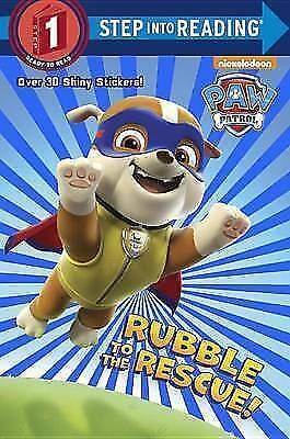 Rubble To The Rescue! (Paw Patrol) (Step Into Reading) • 2.28£
