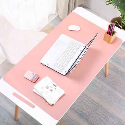 AU10.99 • Buy Top Quality Large Leather Office Computer Desk Mat Table Game Keyboard Mouse Pad