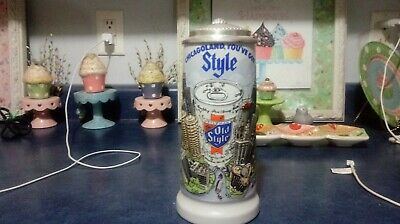 $ CDN86.66 • Buy 1981 Old Style Chicagoland Lidded Beer Stein #400 Out Of 500 Awesome Shape
