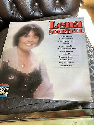 Lena Martell Vinyl Bundle Of 7 • 15£