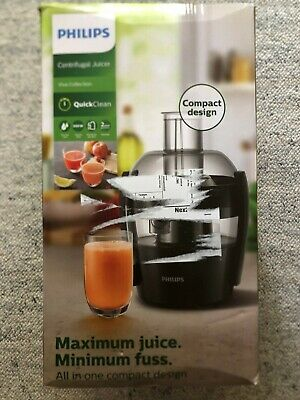 Philips Centrifugal Juicer HR1832 In Black, New And Unused, RRP £70 • 29.99£