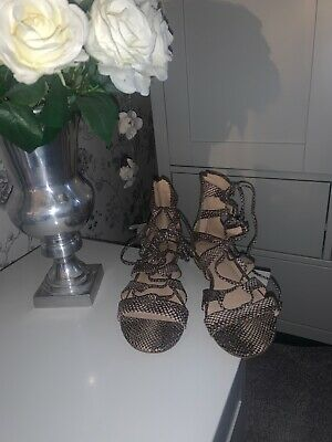 Topshop Gladiator Sandals Size 5 • 1.40£