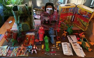 $142.50 • Buy MOTU Masters Of The Universe He Man Vintage Large Collection Lot