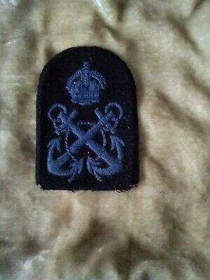 Original Navy Arm Badge WRNS WW2 Petty Officer, In Excellent Condition • 3.20£
