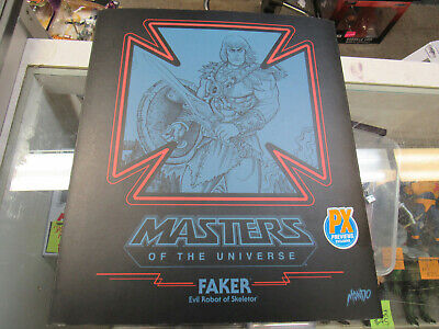 $175 • Buy Rare Mondo He-man Motu Masters Of The Universe Faker 1/6 Scale Px Figure In Hand