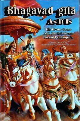 AU25.01 • Buy Bhagavad Gita As It Is (1972) Bhaktivedanta Reprint Free Post Australia Wide