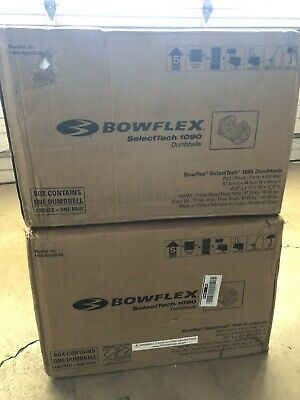 $ CDN1666.75 • Buy Brand New In Box Bowflex SelectTech 1090 Dumbbells Pair 10-90LB **LOCAL PICKUP**