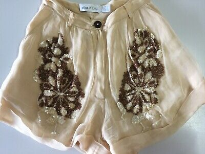 AU16 • Buy Alice McCall Sequinned Dress Shorts Size 6 Bone