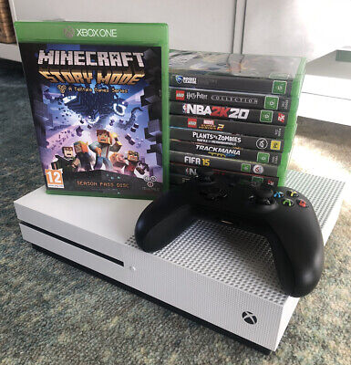 AU430 • Buy Microsoft Xbox One S 1TB Kids Bundle! 11 Games Incl. Minecraft + Rocket League!