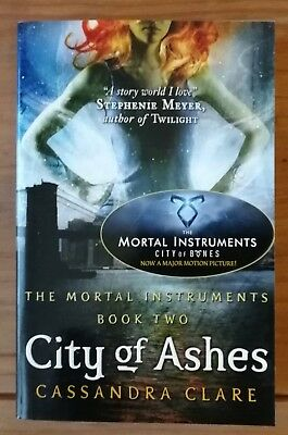The Mortal Instruments Book 2 City Of Ashes Cassandra Clare • 6£