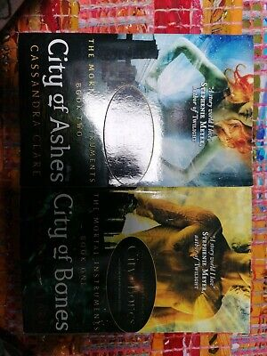 The Mortal Instruments Book Set: City Of Bones And City Of Ashes. Cassandra... • 2£