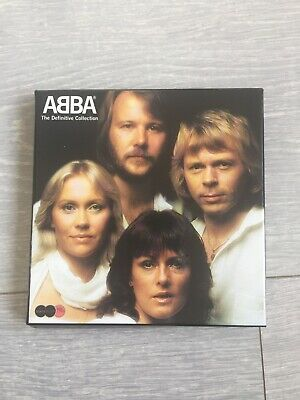 ABBA The Definitive Collection Sound And Vision 2 Cd 1 DVD Box Set Free Postage • 7.99£