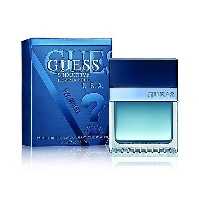 Guess Guess Seductive Homme Blue 100ml Eau De Toilette Aftershave Spray For Men • 29.99£