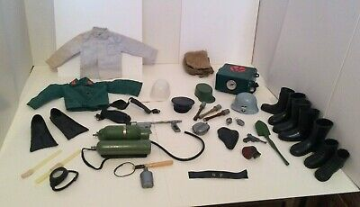$ CDN14.49 • Buy Huge Vintage 12 Inch GI Joe Action Man Mix Lot Of Outfits & Accessories