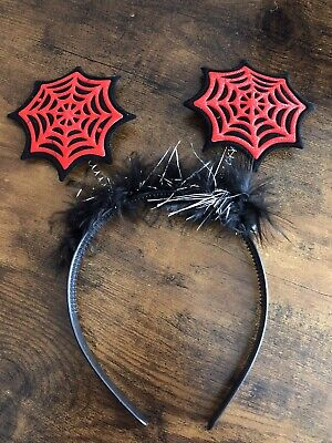 £2.75 • Buy Red Spiders Web Deely Boppers