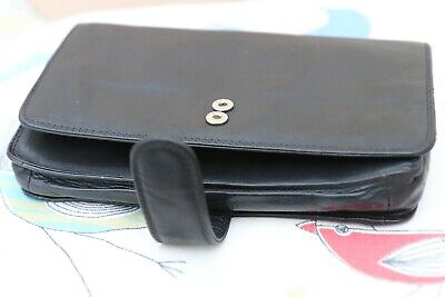 Psion Soft Leather Case For Series 5/5mx (Black) • 5.40£