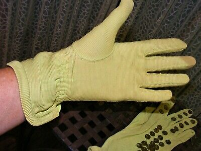 £10.64 • Buy 1930s GLOVES GREEN RAYON SEQUINED GLOVES DAY WEAR 1930S VINTAGE CLOTHING SZ 6