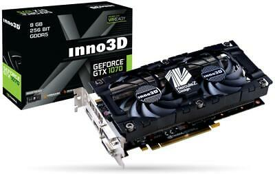 $ CDN180.01 • Buy Inno3D N1070-1SDV-P5DN GeForce GTX 1070 8GB GDDR5 RAM Graphics Card