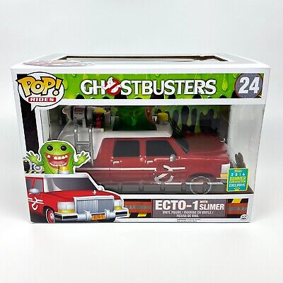 Ecto-1 With Slimer Funko Pop Rides Ghostbusters #24 2016 SDCC Exclusive • 46.99£