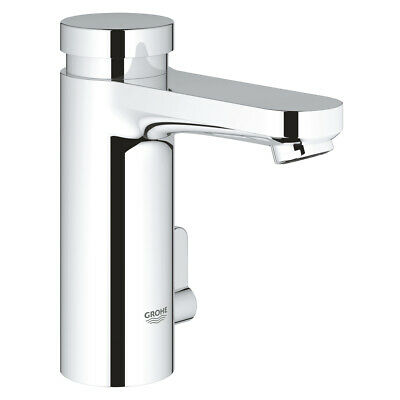 Grohe 36317000 Eurosmart T Self-closing Basin Mixer Tap With Mixing Device - New • 99.67£