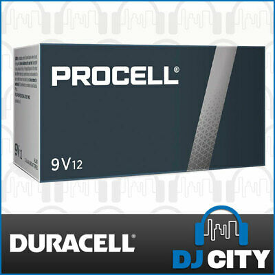 AU35 • Buy Duracell PC1604 Procell 9V Battery Bulk Pack Industrial Strength - 12 Pack