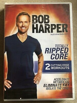 Bob Harper Totally Ripped Core DVD • 16.99£