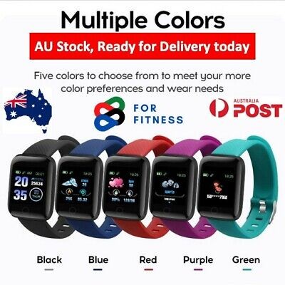 AU20.95 • Buy Smart Watch For IPhone And Android, Smart Band  Bracelet FitnessTracker
