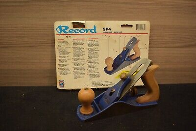 AU65 • Buy  Marples Record # 04  Smooth Plane Woodworking Old Tools