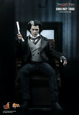 AU300 • Buy Sweeney Todd Demon Barber - Hot Toys Action Figure - Sideshow Johnny Depp