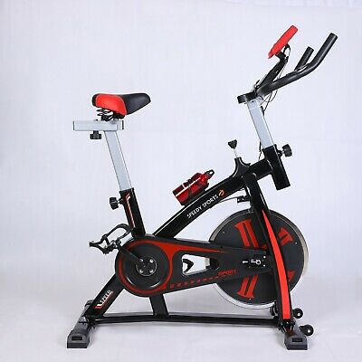 Exercise Bike Flywheel Indoor Cardio Training Cycle Home Fitness Gym Bicycle • 149.99£