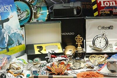 $ CDN40.22 • Buy HUGH  Vintage To New Collectible Keepsakes Jewelry, Watch,mix Lots Of Cool Stuff