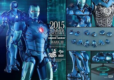 $ CDN440.97 • Buy HOT TOYS MARVEL IRON MAN MARK III STEALTH MODE 1:6 FIGURE EXCLUSIVE ~Sealed Box~