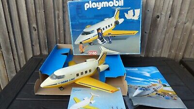 £37.99 • Buy Playmobil 3185 Aeroline Airways Plane Young Children Christmas Toy With Box