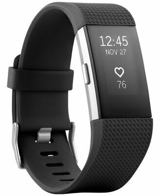 $ CDN106.66 • Buy Fitbit Charge 2 FB407SBKL Activity Tracker, Large - Black