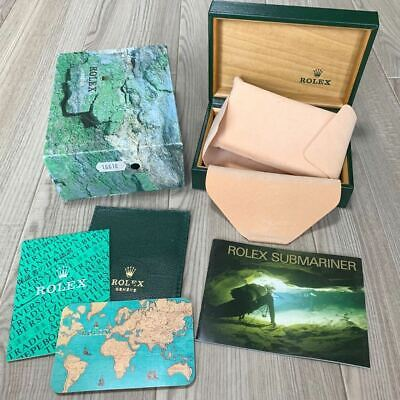 $ CDN357.52 • Buy ROLEX Genuine Submariner 16610 BOX Accessories With Accessories & Booklet
