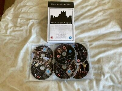DOWNTOWN ABBEY - The Complete TV Series Season 1-6 + Specials DVD Used • 5.20£