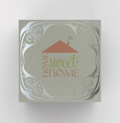 New Home Card - Home Sweet Home Card - Foiled Card • 1.99£