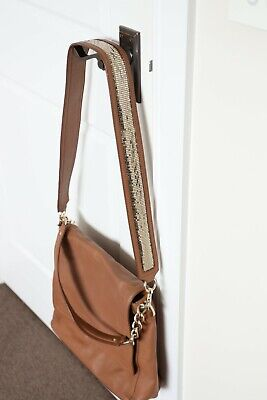 AU40 • Buy **OROTON** Tan Glomesh Long Strap Satchel Handbag