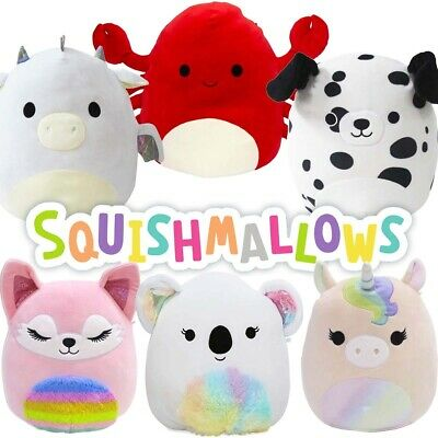 AU20.95 • Buy Squishmallows 12  Super Soft Cuddle & Squeeze Squishy Animal Plush Toy - Age 0+