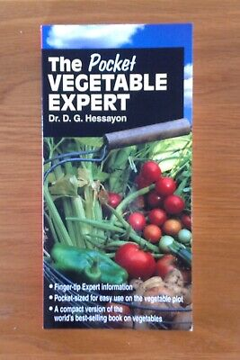 The Pocket Vegetable Expert - Dr D G Hessayon - 2002 • 4.99£
