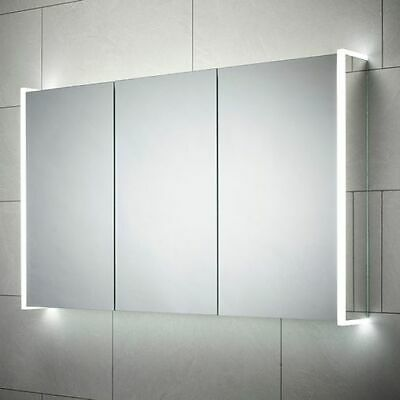 Hydra LED Triple Door Mirror Unit + Shaver Socket + Speakers RRP £529 Bathstore • 379.99£