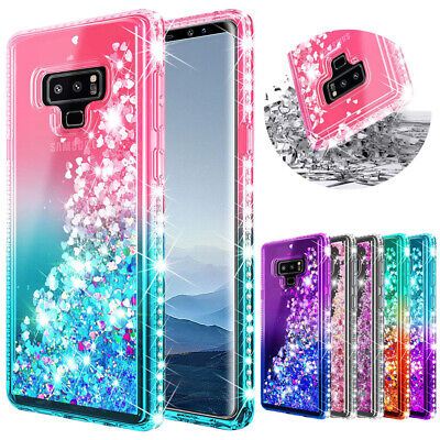 For Samsung Galaxy S10 S9 S20 Ultra Plus Note 9 Glitter Bling Diamond Case Cover • 5.94£