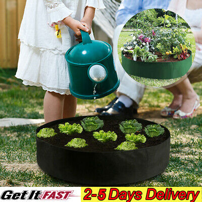 Raised Plant Bed Garden Flower Planter Elevated Vegetable Box Planting Grow Bag • 6.95£