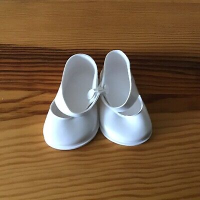 Vintage Cinderella Doll Strap Shoes, Size 3 White  NEW • 4.95£