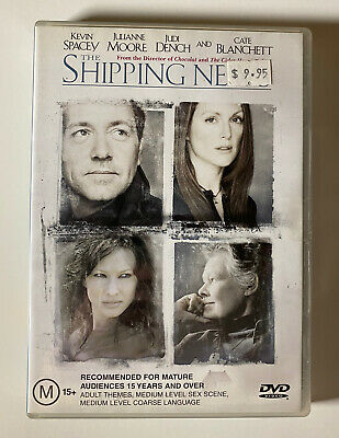 AU10.95 • Buy The Shipping News (DVD) Region 4 Kevin Spacey Julianne Moore Rare OOP!