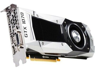 $ CDN393.35 • Buy NVIDIA - GeForce GTX 1070 Founders Edition 8GB GDDR5 PERFECTLY CLEAN And TESTED