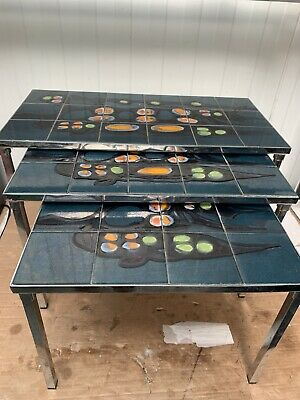 Retro Nest Of Tables  • 24.99£