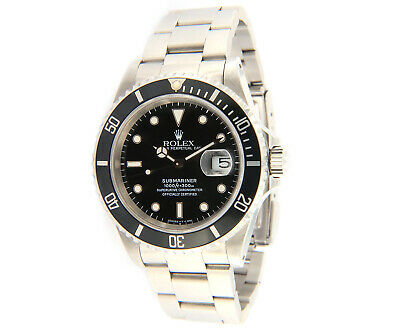 $ CDN12293.96 • Buy 1995 Rolex Submariner 16610, 40MM, Steel W/Box