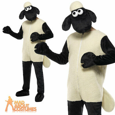 £53.49 • Buy Shaun The Sheep Costume Licensed Farm Animal Book Day Week Fancy Dress Outfit
