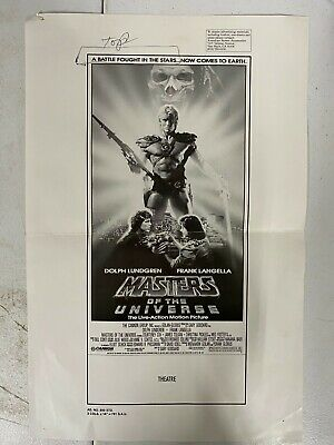 $9.95 • Buy Vintage 80s Original Movie Ad Campaign Dolph Lundgren Masters Of The Universe